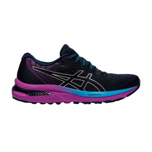 Zapatillas Running Neutras Mujer Asics Gel Cumulus 22  French Blue/Black 1012A741403