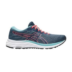 Scarpe Running Neutre Donna Asics Gel Excite 7  Magnetic Blue/Sunrise Red 1012A562404
