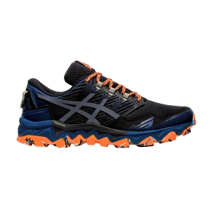 Scarpe Trail Running Uomo Asics Gel Fujitrabuco 8  Directoire Blue/Carrier Grey 1011A668400