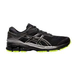 Men's Structured Running Shoes Asics Gel Kayano 26 Lite Show  Black 1011A686001
