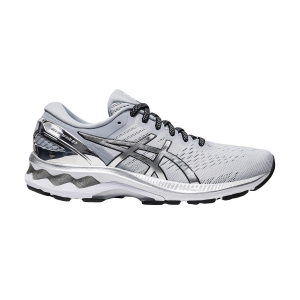 Woman's Structured Running Shoes Asics Gel Kayano 27 Platinum  Graphite Grey/Pure Silver 1012A763020