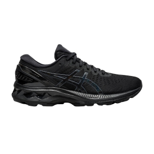 Woman's Structured Running Shoes Asics Gel Kayano 27  Black 1012A649002