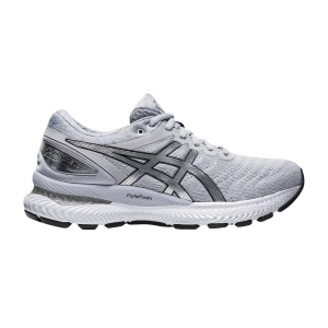 Women's Neutral Running Shoes Asics Gel Nimbus 22 Platinum  Graphite Grey/Pure Silver 1012A664020