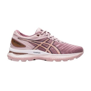 Women's Neutral Running Shoes Asics Gel Nimbus 22  Watershed Rose/Rose Gold 1012A587702