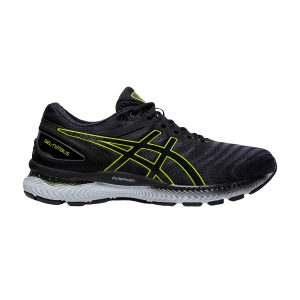 Scarpe Running Neutre Uomo Asics Gel Nimbus 22  Carrier Grey/Lime Zest 1011A680026