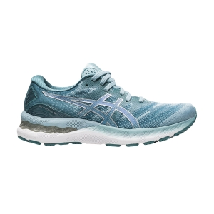Women's Neutral Running Shoes Asics Gel Nimbus 23  Smoke Blue/Pure Silver 1012A885400