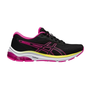 Zapatillas Running Neutras Mujer Asics Gel Pulse 12  Black/Hot Pink 1012A724005