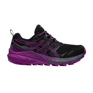 Zapatillas Trail Running Mujer Asics Gel Trabuco 9 GTX  Black/Digital Grape 1012A900002