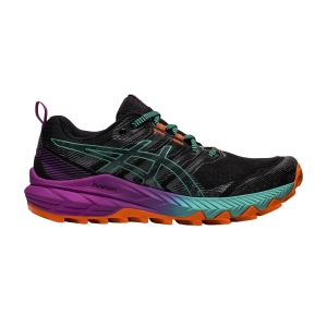 Zapatillas Trail Running Mujer Asics Gel Trabuco 9  Black/Baltic Jewel 1012A904002