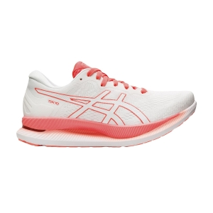 Scarpe Running Performance Donna Asics GlideRide Tokyo  White/Sunrise Red 1012A943100