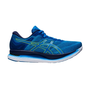 Men's Performance Running Shoes Asics Glideride  Directoire Blue/Lime Zest 1011A817401