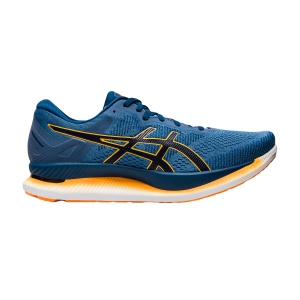 Scarpe Running Performance Uomo Asics Glideride  Grey Floss/Mako Blue 1011A817400
