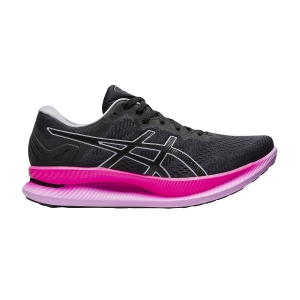 Women's Performance Running Shoes Asics Glideride  Graphite Grey/Black/Pink 1012A699022