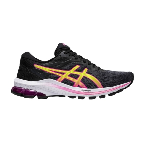 Zapatillas Running Estables Mujer Asics Gt 1000 10  Black/Hot Pink 1012A878005
