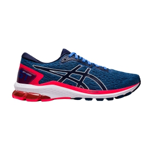 Woman's Structured Running Shoes Asics GT 1000 9  Blue Coast/Peacoat 1012A651401