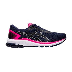 Woman's Structured Running Shoes Asics GT 1000 9  Peacoat/Black 1012A651400