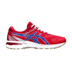 Men's Structured Running Shoes Asics GT 2000 8 Retro Tokyo  Classic Red/Electric Blue 1011A773600