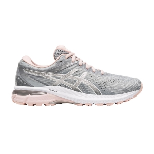 Woman's Structured Running Shoes Asics GT 2000 8  Sheet Rock/Pure Silver 1012A591023