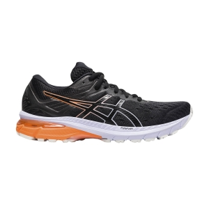 Woman's Structured Running Shoes Asics GT 2000 9  Black/Lilac Opal 1012A859004