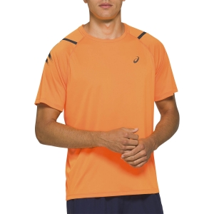 Men's Running T-Shirt Asics Icon TShirt  Orange Pop 2011A981802