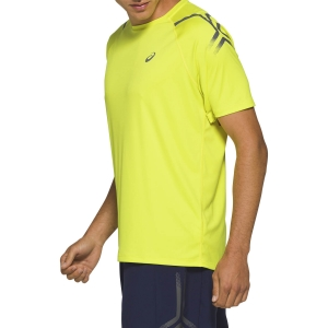 Men's Running T-Shirt Asics Icon TShirt  Sour Yuzu 2011A981753