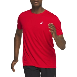 Men's Running T-Shirt Asics Katakana TShirt  Classic Red 2011A813600