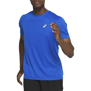 Men's Running T-Shirt Asics Katakana TShirt  Tuna Blue 2011A813401
