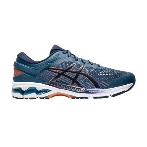 Scarpe Running Stabili Uomo Asics Gel Kayano 26  Grand Shark/Peacoat 1011A541401