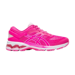 Woman's Structured Running Shoes Asics Gel Kayano 26  Pink Glo/Cotton Candy 1012A457700