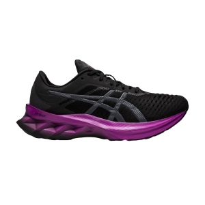 Zapatillas Running Performance Mujer Asics Novablast  Black/Digital Grape 1012A584004