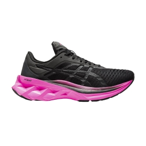 Women's Performance Running Shoes Asics Novablast  Black/Pink Glo 1012A584003