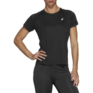 Asics Silver Icon T-Shirt - Performance Black/Dark Grey