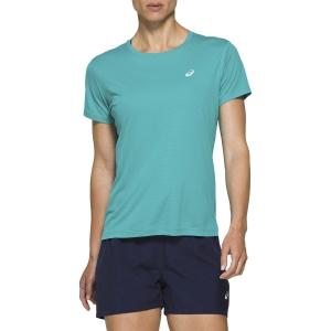 Asics Silver T-Shirt - Lagoon