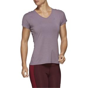 Asics V Neck Camiseta - Lavender Grey