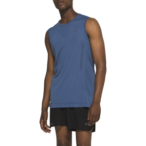 Men's Running Sleeveless Asics Ventilate Sleeveless Tank  Grand Shark 2011A767400
