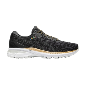 Woman's Structured Running Shoes Asics GT 2000 8  Black Graphite/Grey 1012A940001