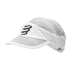 Hats & Visors Compressport Ice Cap  White CU00001B001