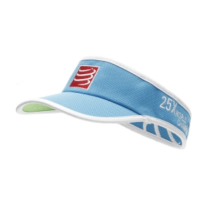 Hats & Visors Compressport Logo Visor  Blue VISOR05