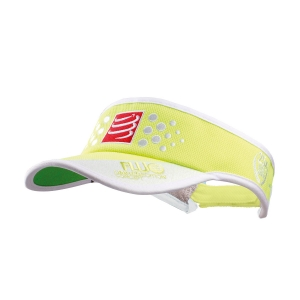 Hats & Visors Compressport Logo Visor  Fluo Yellow VISOR12