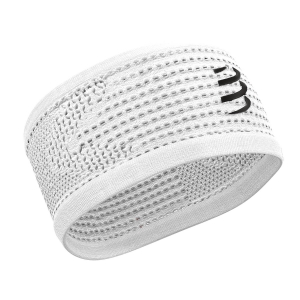 Compressport On/Off Headband - White