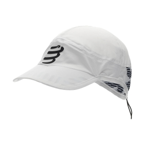 Hats & Visors Compressport Pro Racing Cap  White CU00003B001