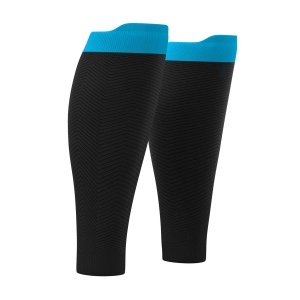 Calf Support Compressport R2 Oxygen Calf Sleeves  Black SU00003B990