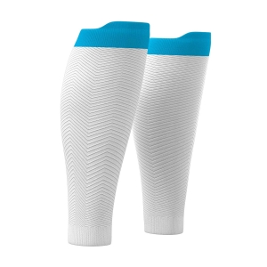 Calf Support Compressport R2 Oxygen Calf Sleeves  White SU00003B001
