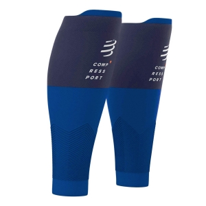 Calf Support Compressport R2V2 Calf Sleeves  Blue SU00002B500