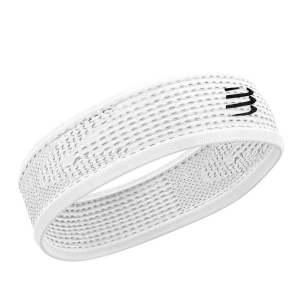 Compressport Thin On/Off Headband - White