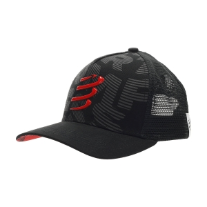 Hats & Visors Compressport Trucker Cap  Black CU00008B990