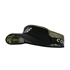 Gorra y Visera Compressport Ultralight Visera  Black Camo CU00005B902