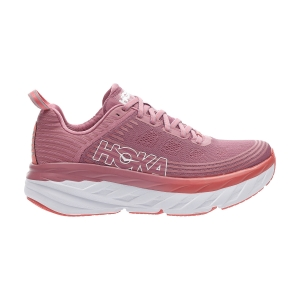 Scarpe Running Neutre Donna Hoka One One Bondi 6  Heather Rose/Lantana 1019270HRLN