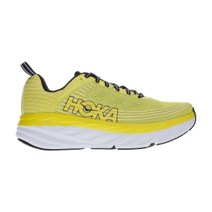 Men's Neutral Running Shoes Hoka One One Bondi 6  Citrus/Anthracite 1019269CATH