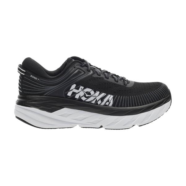 Hoka One One Bondi 7 - Black/White